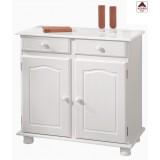 Credenza bianca kit mobile provenzale madia buffet in legno massello shabby