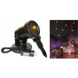 Proiettore laser natale luci di paesaggio faro 2 colori con sensore crepuscolare