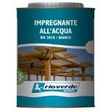 Rioverde rm 2010 impregnante all'acqua bianco lt.0,750 per legno