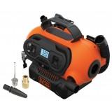 Compressore portatile b&d per auto 12v o 230v batteria a litio gonfiaggio rapido