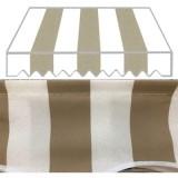 Tenda tende da sole tessuto per balcone muro bracci estensibili 300X250 in alluminio