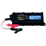 Caricabatterie portatile automatic 230 V Assorbimento 15 W Per batterie fino 12 V