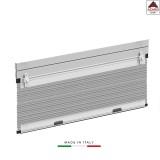 Zanzariera estensibile porta finestra tapparella scorrevole verticale alluminio