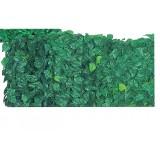 Siepe artificiale ombreggiante verde rete frangivista foglie arella 150x200 cm