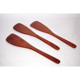 Set 3 palette cucchiai cm 13 in legno cucina casa accessori posate