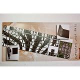 Pellicola adesiva per tastiera pc notebook qwerty fluo zebra