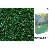 Semi prato verde erboso terreno calpestabile sementi tappeto rustico resistente