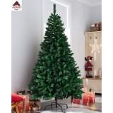Albero di Natale 180 cm molto folto realistico artificiale verde 1085 rami