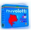 Confezione pannolini nuvolotti new born 22 pz prima misura da 2/5kg