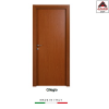 Porta interna a battente legno mdf laminato reversibile ciliegio 210x80 cm