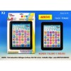 Mini pad educativo bilingue italiano/inglese cm 20x14x2 touch screen