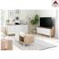 Credenza moderna bianca madia kit mobile tv cucina buffet 2 ante design salotto